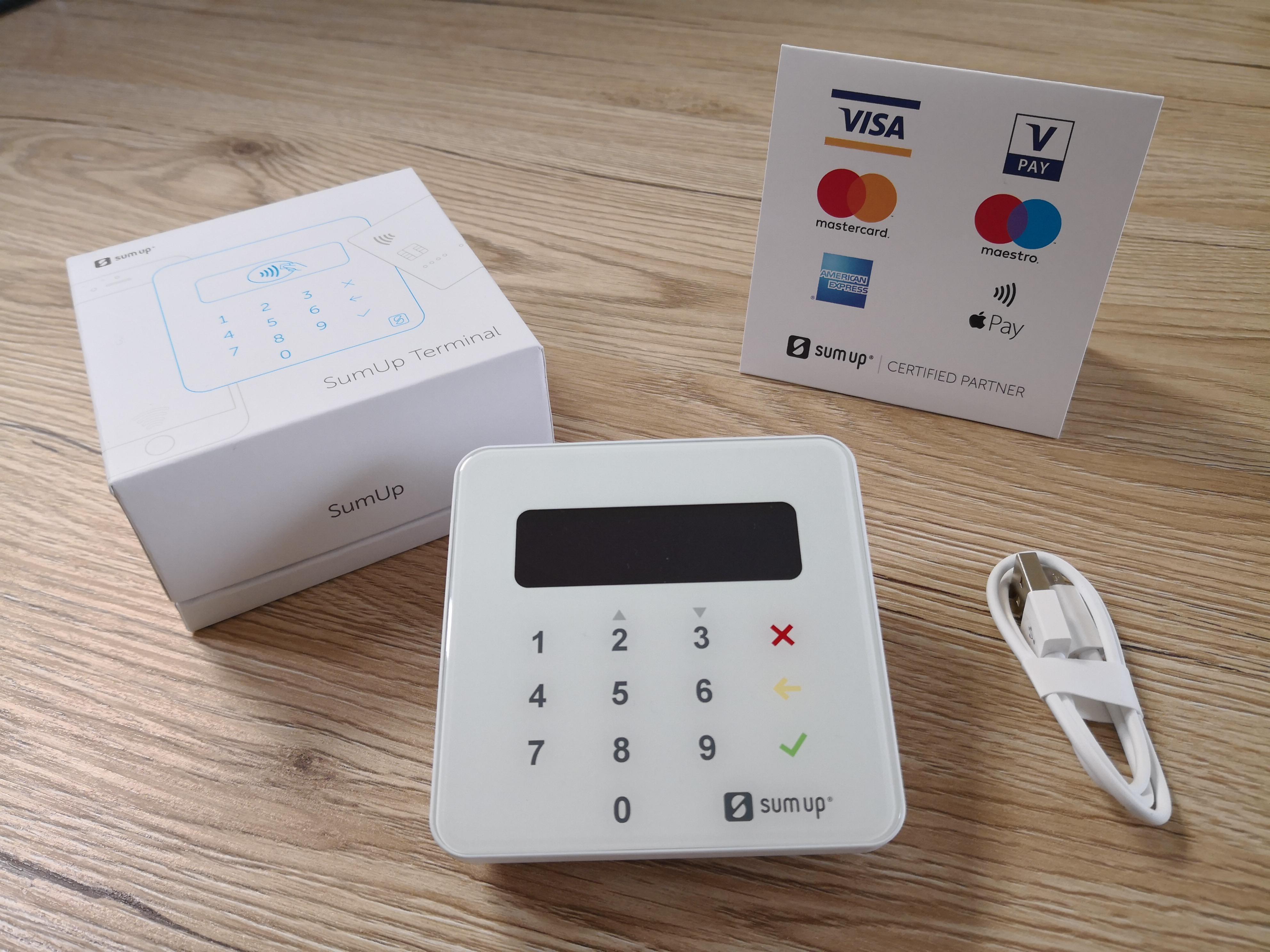 SUMUP Payments (LETTORE POS PORTATILE, per accettare pagamenti con carte di  credito e bancomat) - codice sconto coupon